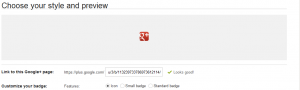 Google+バッジ2