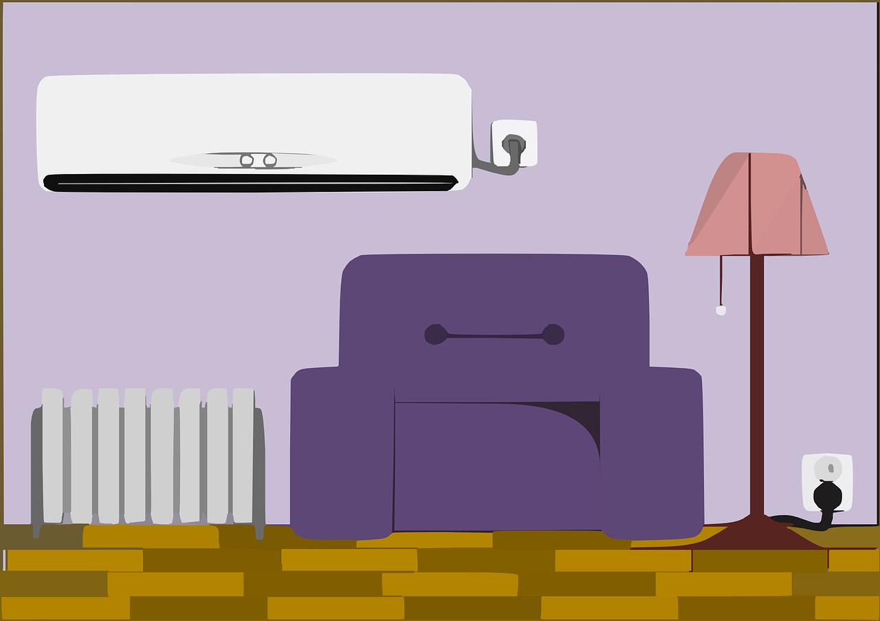 紫色のソファと風水